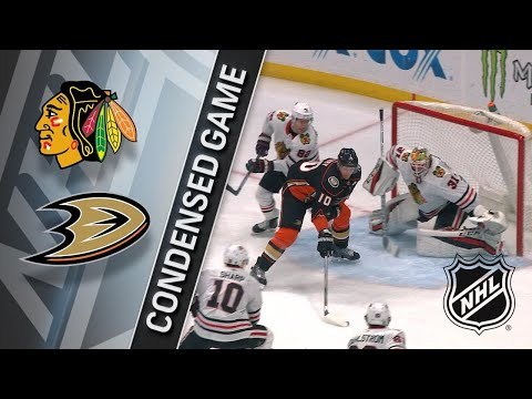 03/04/18 Condensed Game: Blackhawks @ Ducks