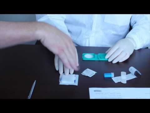 Coremedica Labs Blood Spot Examiner Collection Video