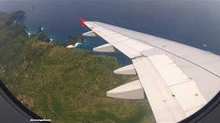 Video Awesome landing in Bali / Denpasar with Indonesia AirAsia - Airbus A320 PK-AXX download MP3, 3GP, MP4, WEBM, AVI, FLV Agustus 2018