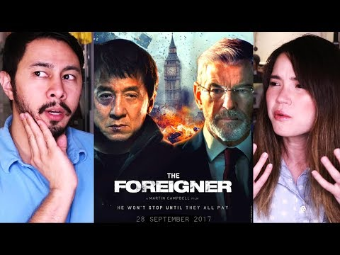 THE FOREIGNER | Jackie Chan | Pierce Brosnan | Movie Review!