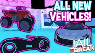 SNEAK PEEK TO ALL NEW VEHICLES ON ROBLOX JAILBREAK!!! Mise à jour d'hiver