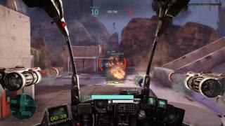 Hawken PS4 PRO BOOST MODE GAMEPLAY - ALOT BETTER - TEST 1