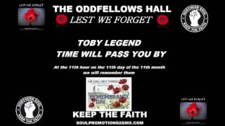 "WIGAN CASINO CLASSICS ""LEST WE FORGET"" TOBI LEGEND - TIME WILL PASS YOU BY"