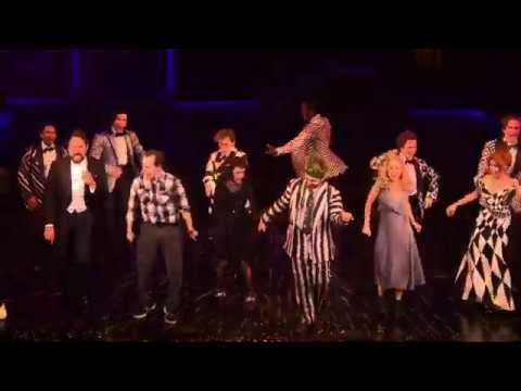 Beetlejuice On Broadway Curtain Call 7 11 2019 Youtube
