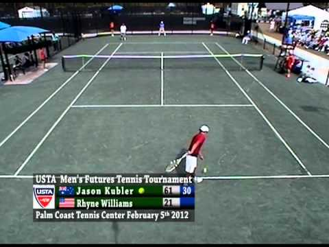 USTA Tennis Men's Singles Finals 2012