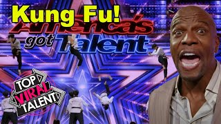 KUNG FU FIGHTING! BEST MARTIAL ARTS Auditions EVER On GOT TALENT!