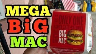 MEGA BIC MAC - RM14.20 | McDonald's Malaysia (new 2018)