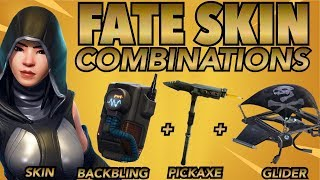 """FATE"" SKIN BEST BACKBLING + SKIN COMBOS! (Legendary) (Fortnite Battle Royale) (2018)"