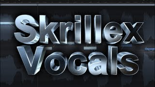 Skrillex Stlye Vocal Chop w/ Logic Pro X - Flexpitch Tutorial