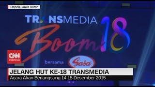 Mengintip Persiapan HUT Ke-18 Transmedia Video