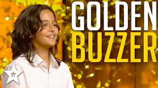 Self Taught Piano Player ONLY 12 Years Old Gets GOLDEN BUZZER! | Got Talent Global