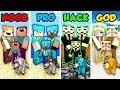 Minecraft NOOB vs. PRO vs. HACKER vs GOD: FAMILY LIFE 2 in Minecraft! (Animation)