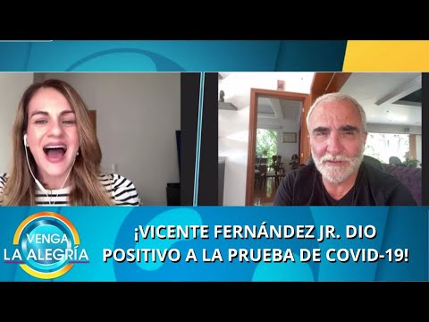 ¡Vicente Fernández Jr. tiene COVID-19! | Programa del 20 de julio de 2020 PARTE 2 | Venga La Alegría