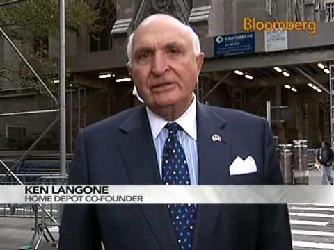 Ken Langone Says Notion of a Pay Czar Is `Absurd': Video