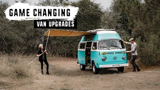 VAN LIFE UPGRADES For Extended Overland Travel
