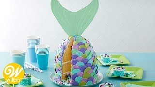 How to Make a Mermaid Tail Cake with Rosanna Pansino Baking Line | Wilton
