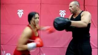 Sasha boxing