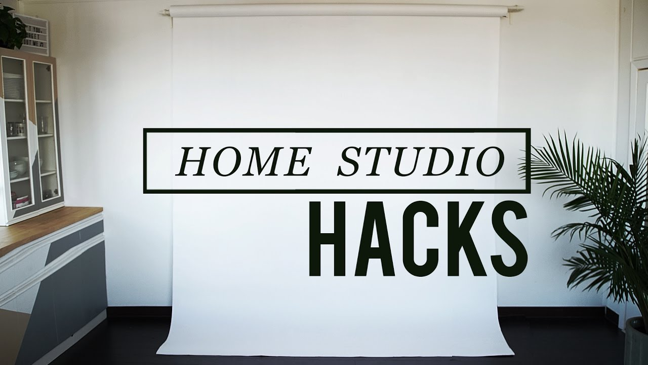 MUST KNOW HOME STUDIO HACK FOR DIY BACKDROPS - YouTube