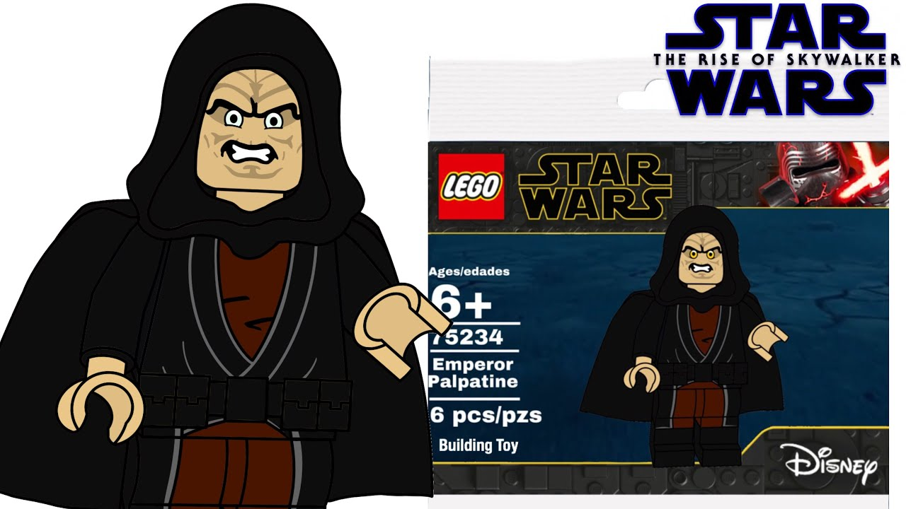 Lego Star Wars Emperor Palpatine Polybag Draft The Rise Of Skywalker Youtube