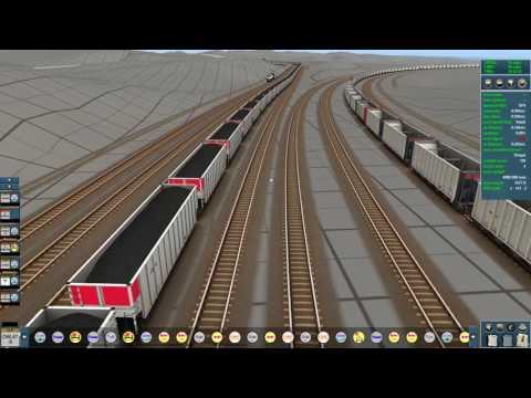 012 Trainz Powder River Basin Update 06 & running 9 Trains