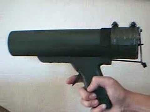 Airsoft Grenade Or Rocket Launcher Pistol Youtube