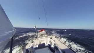Swan 56 Bink rounding Finisterre