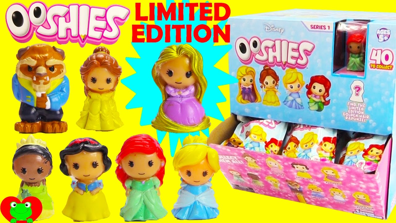 Disney Princess Ooshies Limited Edition Rapunzel Beauty