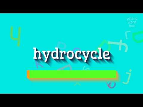 "How to say ""hydrocycle""! (High Quality Voices)"