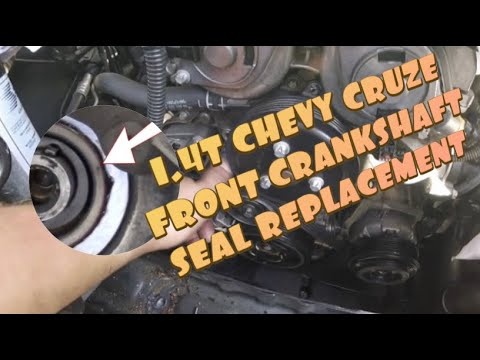 How To: Chevy Cruze Front Crankshaft Seal