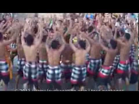 BALINESE KECAK DANCE WITH JAVA VACATION TOUR AGENT PART 3