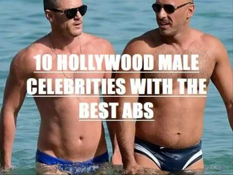 TOP 10 HOLLYWOOD MALE CELEBRITIES WITH THE BEST ABS