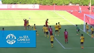 Football Brunei vs Vietnam Full Match Highlights 29 May | 28th SEA Games Singapore 2015