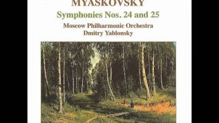 ミャスコフスキー 交響曲第25番 第2楽章 モデラート.wmv