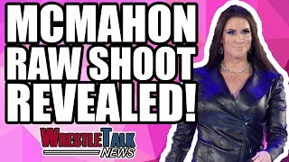 Stephanie McMahon SHOOT On WWE Raw REVEALED!