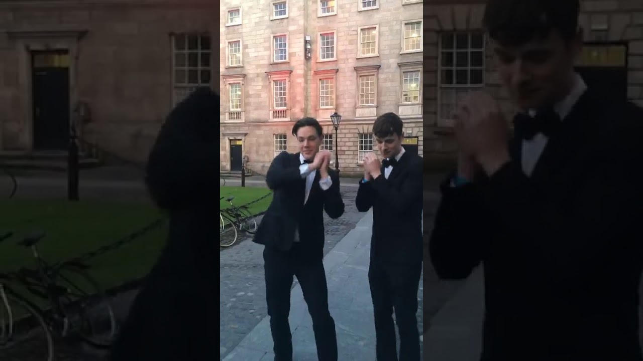 Dublin College Acapella Group 'Trinitones' Perform Amazing George Ezra Cover