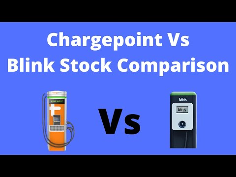 Chargepoint Vs Blink Charging Stock Comparison! The 2 Best EV Charging Station Stocks