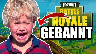 Bad HACKER BANNT ! Feat. Tone Changed (Fortnite Verarsche)