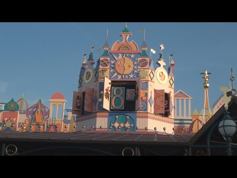 It's A Small World Clock Parade - Disneyland Paris
