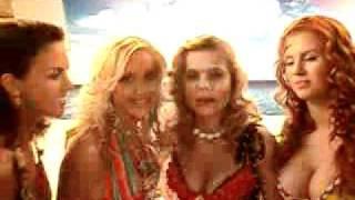 Блестящие - Съемки клипа на песню Пальмы парами-2