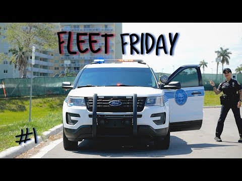Police Fleet Friday's : Whats inside a Police Patrol Vehicle (Ford Explorer)