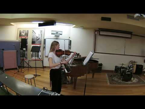 ACO Academy Audition, 2018 - Sonata No.1 in G, Bach