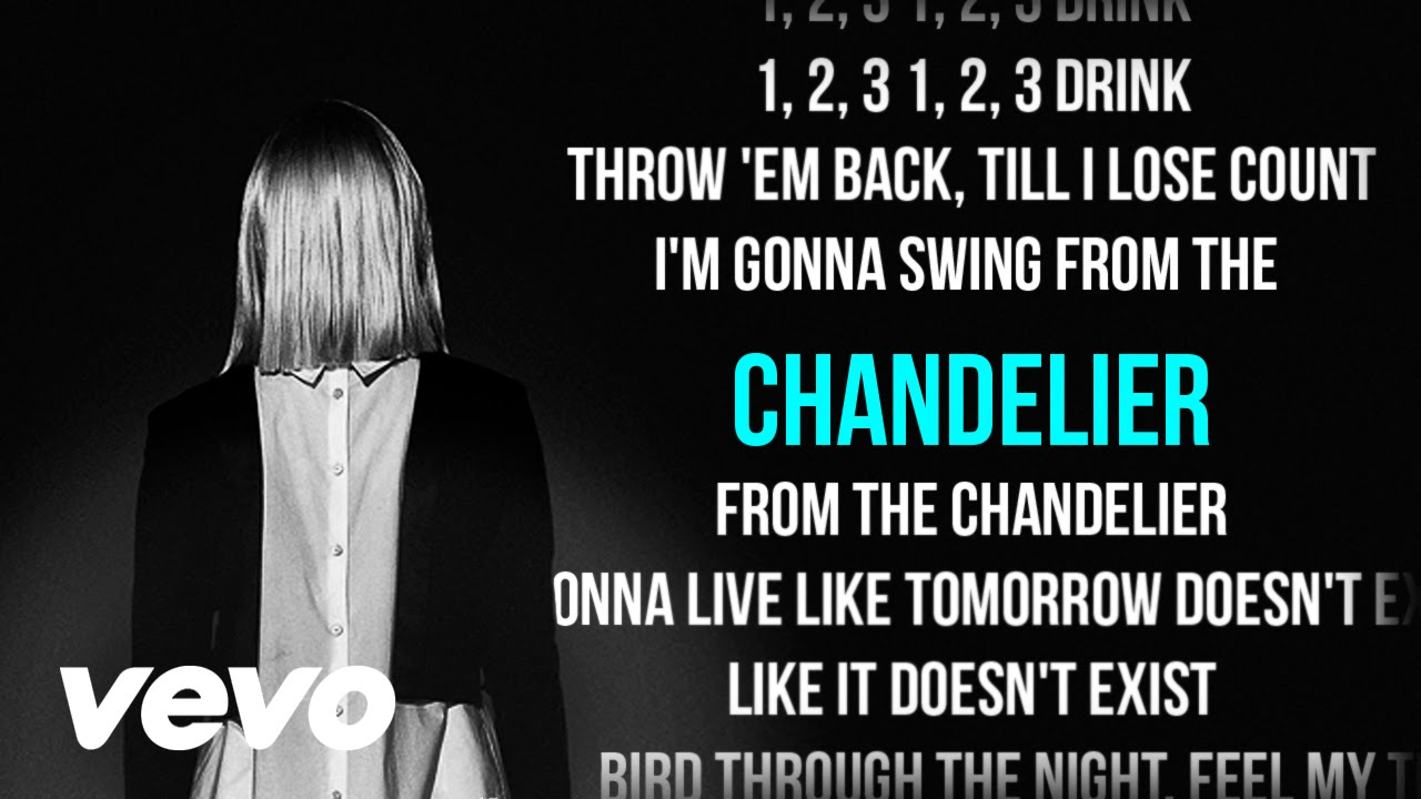 Sia - Chandelier (Karaoke) + Lyrics + Backing Vocals | Vevo - YouTube