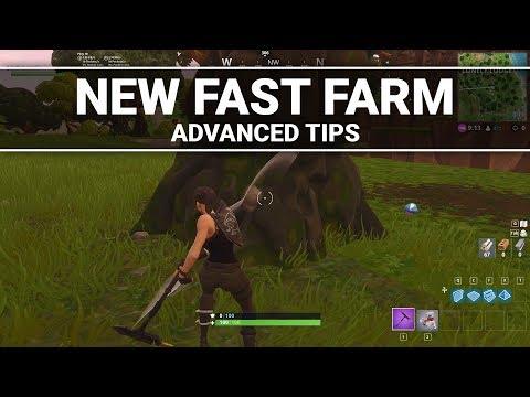Fortnite: How to Fast Farm (Advanced Tips)