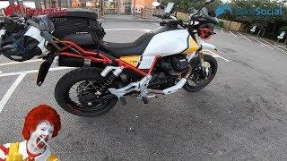 Moto Guzzi V85 TT: 1000 miles in a day just for a Big Mac