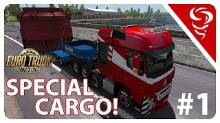 ITS SOOO WIDE!  ✯  Special Transport  ✯  Euro Truck Simulator 2  ✯  Part 1