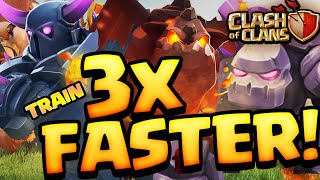 Clash of Clans UPDATE! ♦ Train Armies FASTER! ♦