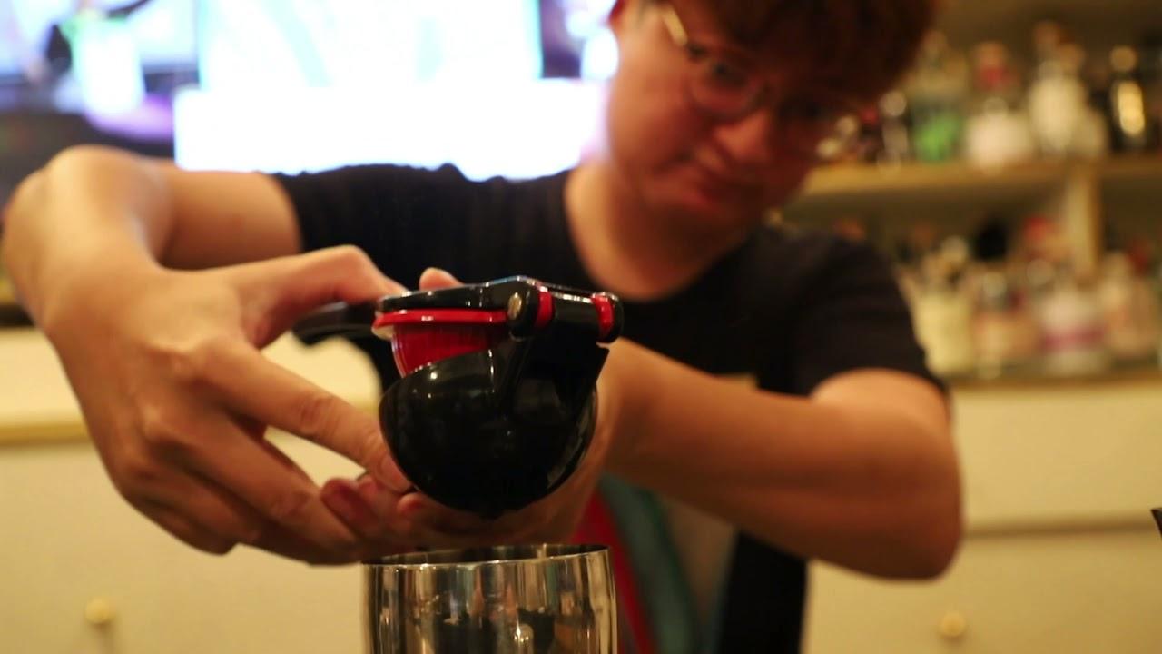 Flair Iron CMB香港一對一調酒課程 - 上堂片段 第十四堂 Craft Flair Gary