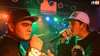 ACZINO VS KLAN - IRON BATTLES WAR ( OFICIAL ) - RADIO DOBLE HH ARGENTINA