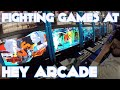 「Japan」Fighting Games at HEY Arcade