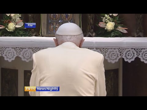 Pope Francis appoints new personal secretary; update on health of Pope Emeritus Benedict XVI | EWTN